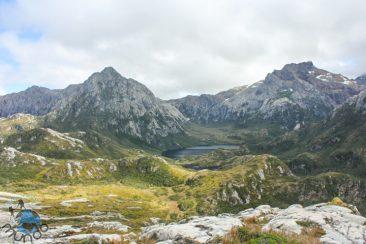 Vista de cima das montanhas