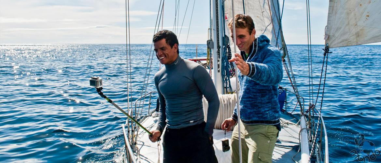 velejando patagônia