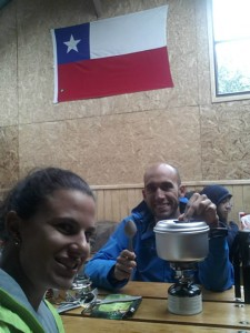 Refúgio Los Cuernos: parada para almoço na cozinha mais aconchegante do circuito