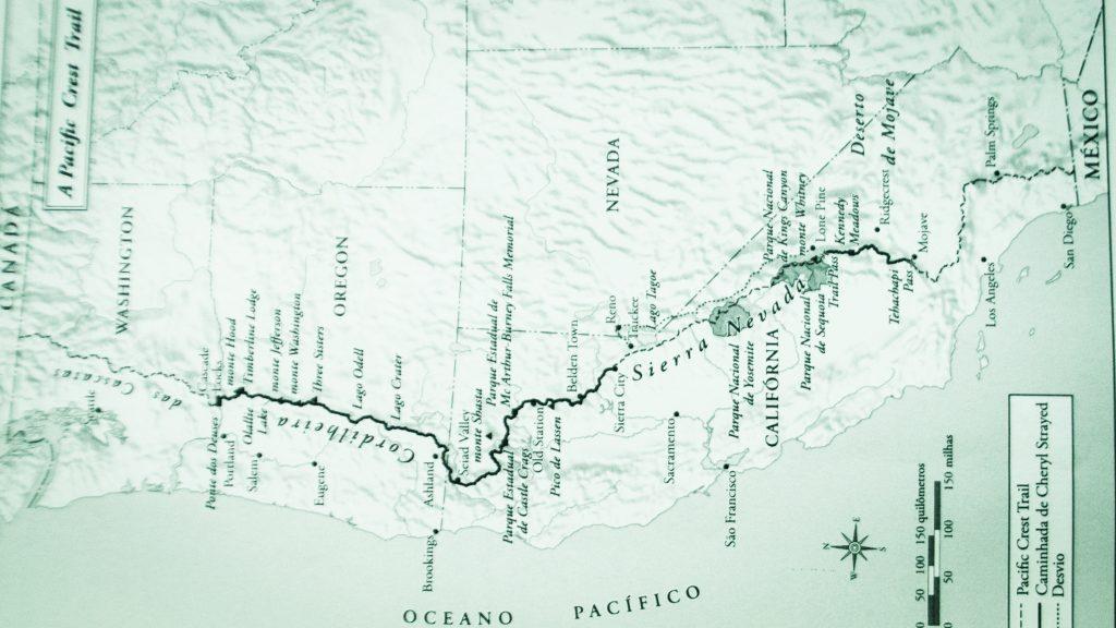 Livre - Pacif Crest Trail