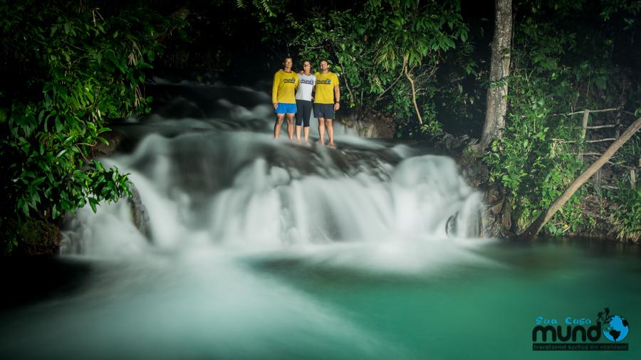 Reveillon na Cachoeira do Formiga