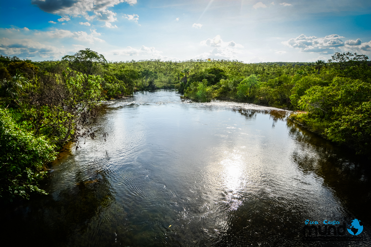 cachoeira do soninho no Jalapão