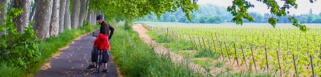 de bike no sul da França